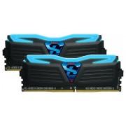 Geil Super Luce Blue LED DDR4 8GB 2400MHz CL15 KIT2 (GLB48GB2400C15DC)
