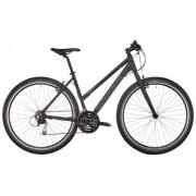 Serious Cedar hybride fiets Dames Hybrid zwart Hybride fietsen Dames
