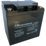 Acumulator 12V - 24Ah VRLA, GEL, AGM FBinternational for ROMBAT