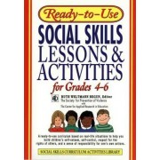 Ready-to-Use Social Skills Lessons and Activities for Grades 4-6 by Ruth Weltmann Begun