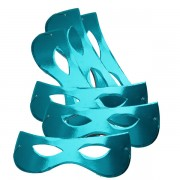 Papírszemüveg, fényes, kék, 6 db/cs