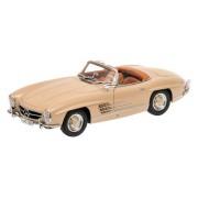 Minichamps 180039032 - 1:18 1957 Mercedes-Benz 300 SL Roadster W198 II, Marrone