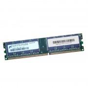 512Mo Ram MICRON MT16VDDT6464AG-40BGB 184-PIN DDR1 PC-3200U 400Mhz 2Rx8 CL3