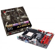 Biostar A780LB AMD 760G Socket AM2 1 x Ethernet 2 x USB 2.0