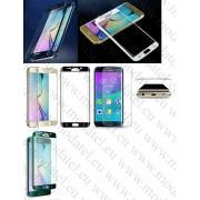 Заоблен стъклен протектор за Samsung Galaxy S6 Edge SM-G925 (Темперирано закалено стъкло) 'Full Screen'