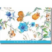 Asian Floral Thank You Notes (Stationery, Note Cards, Boxed Cards) by Peter Pauper Press Inc