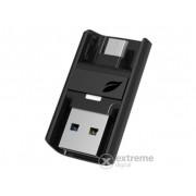 Leef Bridge Dual USB flash drive pentru Android, USB 3.0 128GB, negru