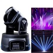 ILS Mini 50 W 9 Patterns luz fría Rainbow luz lámpara bombilla Light LED Moving Head Stage luz lámpara bombilla Light, Master/Slave/DMX/Voice Control Modes