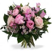 Gemengd roze Boeket