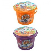 Super Miracle Bubbles 16 Piece Bubble Bucket Fun Set Colors Vary