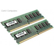 Crucial 8GB kit (2x4GB) 667MHz DDR2 Registered Dimm Memory Module