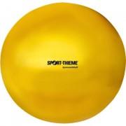 Ritmikus gimnasztika labda gyakorló, csillogó magasfényű, 16 cm átmérőjű, 300gr.súlyű - sárga
