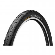 Continental Town and Country 2.1 Folding MTB Tyre - Black - 26in x 2.1in