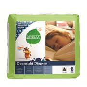 CHLORINE FREE OVERNIGHT DIAPERS (Stage 6) 17 Diapers