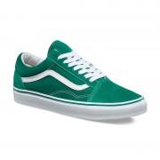 Shoes Vans Old Skool Suede/Canvas ultramarine green/true white