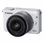 Canon EOS M10 alb kit EF-M 15-45mm f/3.5-6.3 IS STM argintiu