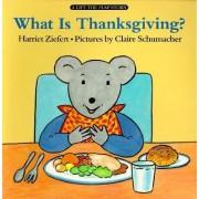 What Is Thanksgiving? by Harriet Ziefert