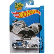 Hot Wheels 2014 Hw City Fright Cars - Tomb Up - Chrome/Blue 78/250 by Hot Wheels