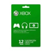 XBOX LIVE GOLD 12 MESES R15 . .