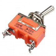 Beautyforall 2Pcs 15A 250V 2 Pin Toggle ON-OFF Switch EP98 1021 Latching Terminal