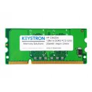 CB423A 256MB DDR2 144-pin DIMM Printer Memory for HP LaserJet P3005 P3005d P3005n P3005dn P3005x CM2320 CM2320fxi CM2320nf CP1515n CP1518ni CP2025n CP2025dn CP2025x CP5225x CP5225dn Laser Jet Pro CP1525NW