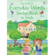 Everyday Words in Irish Sticker Book by Felicity Brooks