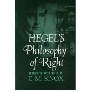 Philosophy of Right by G. W. F. Hegel