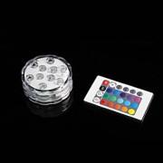controle de venda romte quente luzes LED submersíveis