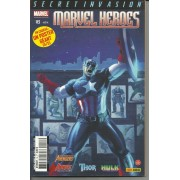 "Marvel Heroes N° 16 ( Secret Invasion ) : "" Passage De Flambeau "" ( The Mighty Avengers / Avengers : The Initiative / Thor / Hulk )"