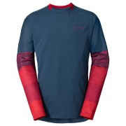 VAUDE Moab II longsleeve rood/blauw XL 2017 Longsleeves