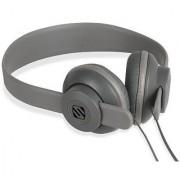 SCOSCHE SHP400-GY lobeDOPE On-Ear Headphones - Retail Packaging - Grey