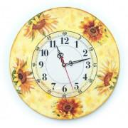 Ceas de perete floarea soarelui 1434
