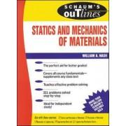 Schaum's Outline of Statics and Mechanics of Materials by William A. Nash