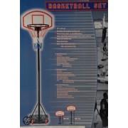 Verstelbare basketbal set