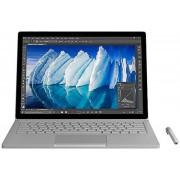 "Laptop 2in1 Microsoft Surface Book, Surface Pen, Procesor Intel® Core™ i7-6600U, PixelSense 13.5"", 8GB RAM, 256GB SSD, 8MP, Wi-Fi, Microsoft Windows 10 Pro (Argintiu)"