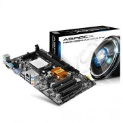 ASRock N68-GS4/USB3 FX Scheda Madre, Nero