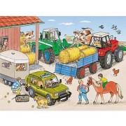Farm + Tractor Jigsaw Puzzle 35pc