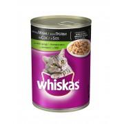 Консерва за котки Whiskas агнешко и говеждо 400 г