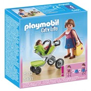Playmobil 5491 - Mamma con carrozzina
