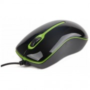 Mouse optic Gembird MUS-U-004-G black green
