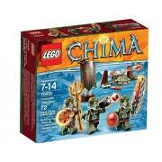 Lego legends of chima 70231 - Chima pack de la tribu del cocodrilo