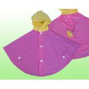 Nebuló gyermek pelerin - rózsaszín