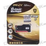 PNY Premium Rotatable USB 2.0 Jump/Flash Drive Keychain - ReadyBoost (8GB)