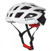 LIVALL Smart Remote Control Bluetooth Intercom Cycling Helmet - White + Black + Multi-color