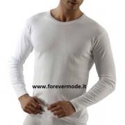 Life T-Shirt uomo Life manica lunga a girocollo in caldo cotone