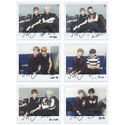 BTS Bangtan Boys Run With Jin Wide Polaroid Photo Set