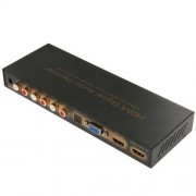 ILS Estrattore Audio Convertitore da HDMI to HDMI/VGA/SPDIF/5.1CH/HP Digital Audio Decoder