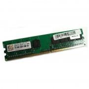 1Go Ram Transcend JM800QLU-1G DIMM DDR2 240-PIN PC2-6400U 800Mhz 1Rx8 CL5