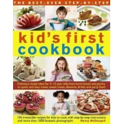 Kid's First Cookbook: Delicious Recipe Ideas for 5-12 Year Olds, from Lunch Boxes and Picnics to Quick and Easy Meals, Teatime Treats, Desserts, Drinks and Party Food by Nancy McDougall