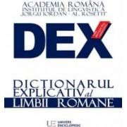 Dex - dictionar explicativ al limbii romane. Ed.2016